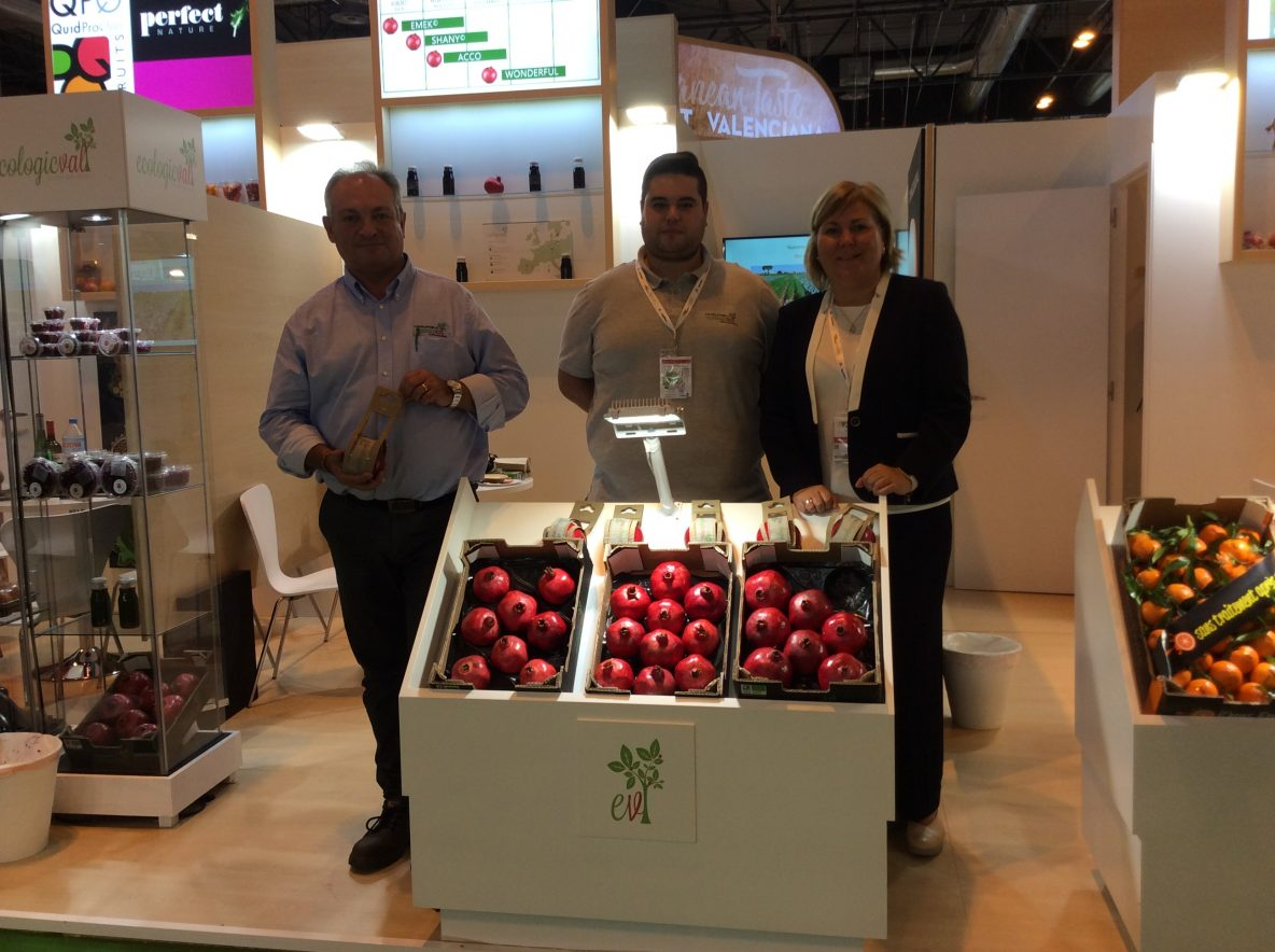 EcologicVal en Fruit Atraction